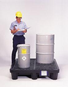 Ultra-Spill Pallets - Economy 2 Drum Model