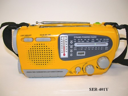 Emergency Radio - AM/FM short Wave Multiple Power