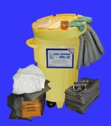 95 Gallon CleanSorb Spill Response Kit with Wheels