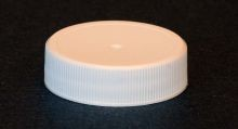 38 mm - White Polypropylene Screw Cap