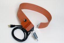 Silicone Rubber Drum Heater - 3 Inch Wide - 30 Gallon