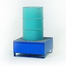 All-Steel Spill Containment Pallet - Standard 1 Drum