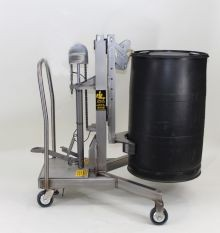 Easy Lift Economy Drum Transporter - Stainless Steel Model
