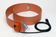 Silicone Rubber Drum Heater - 4 Inch Wide - 55 Gallon