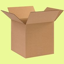Cardboard Boxes - 10 Inch x 10 Inch x 10 Inch