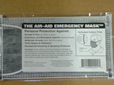 Air-Aid Face Mask - OUT OF STOCK- SORRY