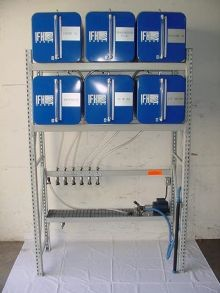 IFH Oil Storage and Dispensing Systems With Six - 65 Gallon Containers - Inboard Console