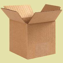 Cardboard Boxes - 5 Inch x 5 Inch x 5 Inch