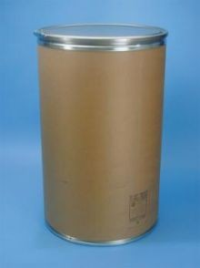 55 Gallon Greif Lok-Rim® Fiber Drum - Metal Cover