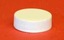 33 mm - White Polypropylene Screw Cap