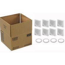 Hazmat Shipper Box Holds Four - 1 Quart Paint Cans