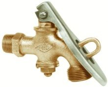Solid Brass Drum Faucet - 3/4 Inch NPT Inlet - 3/4 Inch GHT Male Outlet
