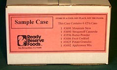 Long Shelf Life Food Sample Case
