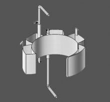 MORSE Karrier Diameter Adapter - Stainless Steel
