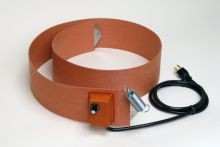 Silicone Rubber Drum Heater - 4 Inch Wide - 55 Gallon