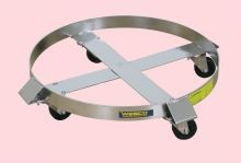 Economy Stainless Steel Drum Dolly - 30 Gallon
