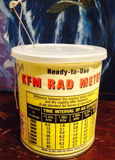 Kearny Fallout Meter  (Assembled)