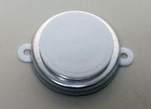 3/4 Inch Round-Head Plastic Capseal - White