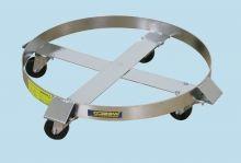 Premium Stainless Steel Drum Dolly - 30 Gallon