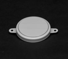 2 Inch Round-Head Steel Capseal - White