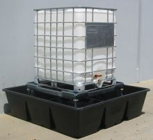 Low Cost IBC Spill Protection System