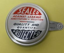 2 Inch Round-Head Aluminum Capseal - Sealed Protected