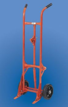 Self-Standing Drum Truck - Polyolefin Wheels