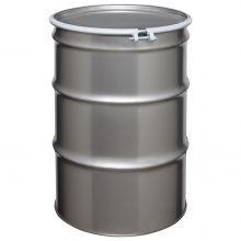 55 Gallon Open-Head Stainless Steel Drum