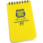 Filed Interview Notebook - All Weather (3