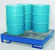 All-Steel Spill Containment Pallet - Standard 4 Drum