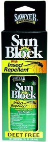 Sun Block with Insect Repellent