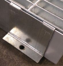L-Anchor For Low-Profile Modular Steel Work Deck