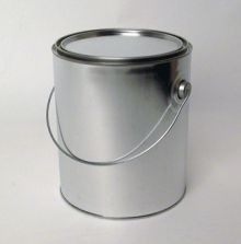 1 Gallon Paint Can With Handle-Unlined