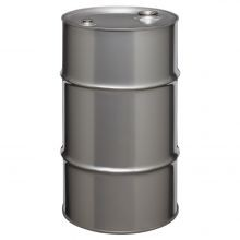 16 Gallon Tight-Head Stainless Steel Drum
