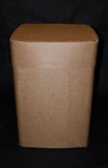 57 1/2 Gallon All-Fiber Drum - Square