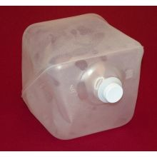2-1/2 gallon knocked down cubitainer insert