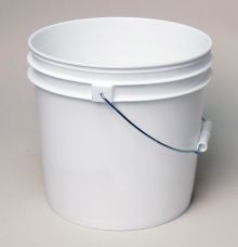 2 Gallon Open-Head Tapered Plastic Pail