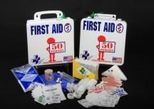 Economical 50-person kit in plastic case K610-033