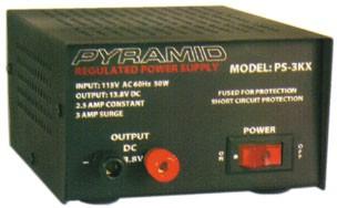 Power Supply 13.8V DC output