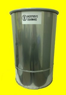 10 Gallon Open-Head Stainless Steel Drum