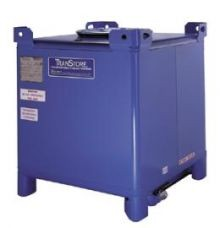 350 Gallon Carbon Steel IBC - TranStore Advanced Technology