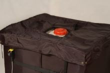 Insulated Lid For Plastic IBC Blanket Heater