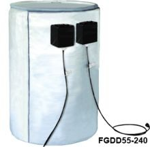 Full Coverage Insulated Steel Drum Heater - Dual Zone