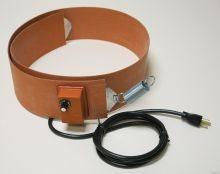 Silicone Rubber Drum Heater - 4 Inch Wide - 30 Gallon