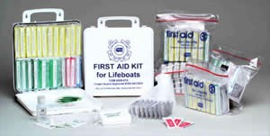 Coast Guard First Aid Kit