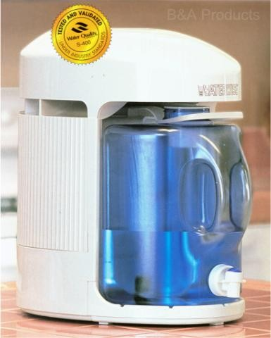 Electric Counter Top Steam Water Distiller