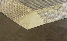 Steel Work Deck Corner Ramp Panel