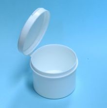 1 Ounce - Hinged Lid Containers - Polyethylene