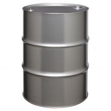 55 Gallon Tight-Head Stainless Steel Drum