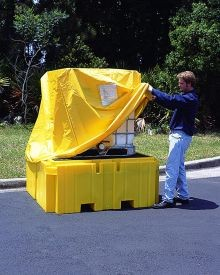 Pullover Cover For All Poly IBC Spill Pallet